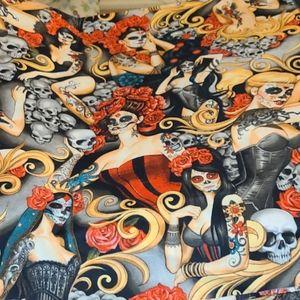 Sewing De Los Muertos Alexander Henry Fabric